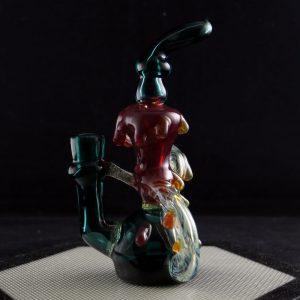 Mini worked recycler by Shana Glassgirl