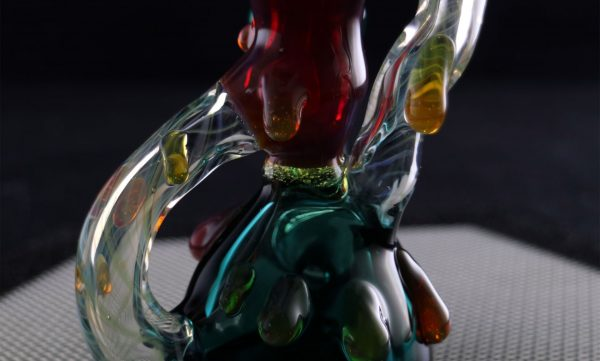Mini worked recycler by Shana Glassgirl