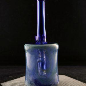 Jeff Patterson blue crushed opal galaxy banger hanger