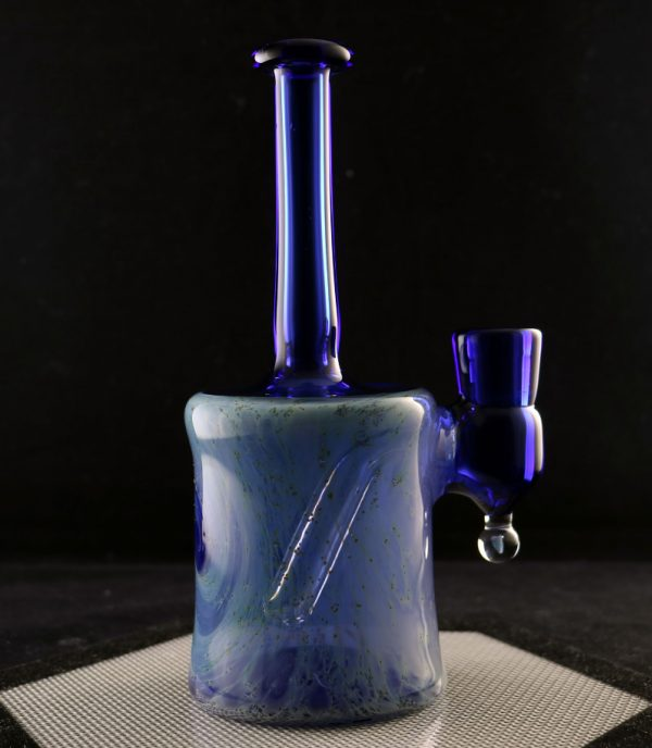 Jeff Patterson blue crushed opal galaxy banger hanger