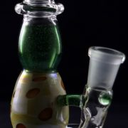 Little Pot Glass Green Stardust Micro Spinnerjet
