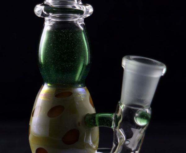 Little Pot Glass Green Stardust Micro Spinnerjet