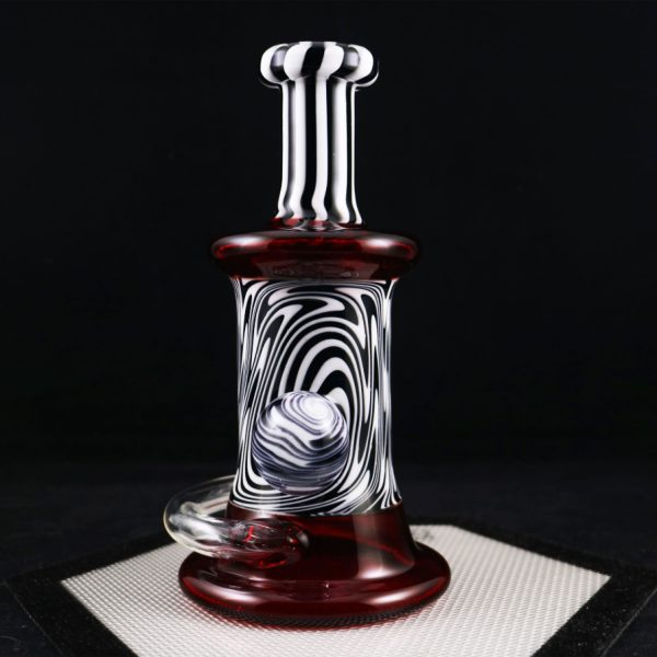 Philpot Glassworks Custom Black and White Spinnerjet