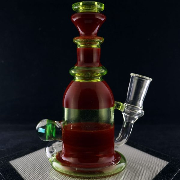 Philpot Glassworks Red and Illuminati Spinnerjet