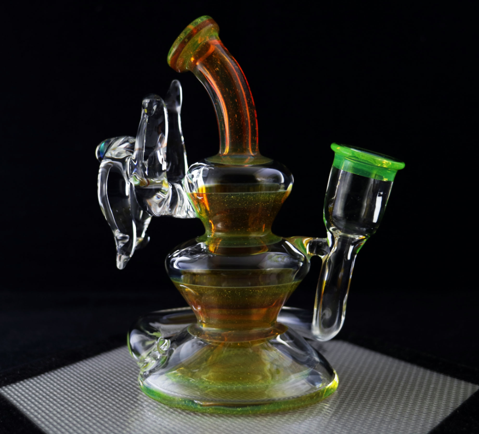 Philpot Glassworks Ricky Bobby Collab Spinnerjet
