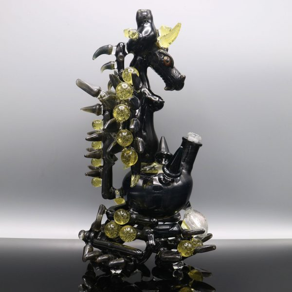 The CFL Dragon Wizardess Functional Sculpture by Kiebler