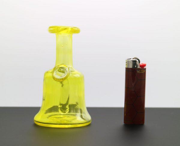 Transparent Yellow Pocket Bottle