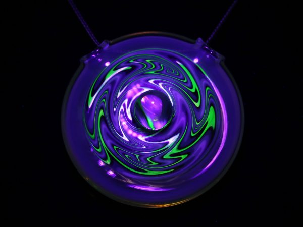 Phosco Blue UV Opal Pendant