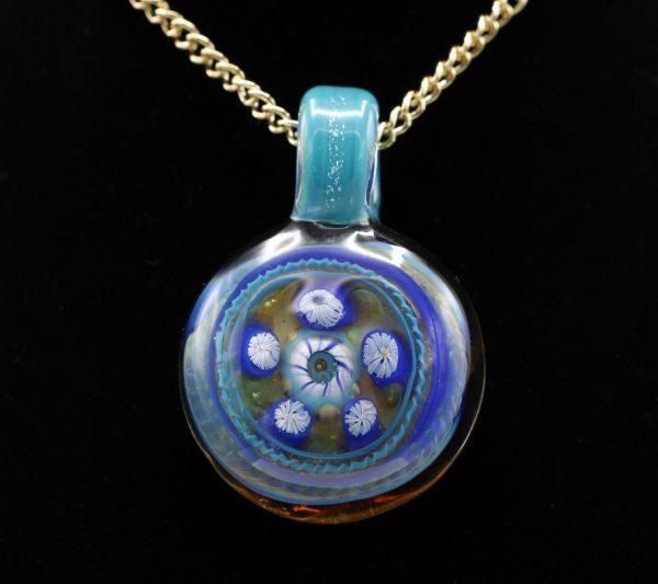 Shana Glassgirl Blue Pendant