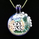Junebug Glass Eat Ass Pendant