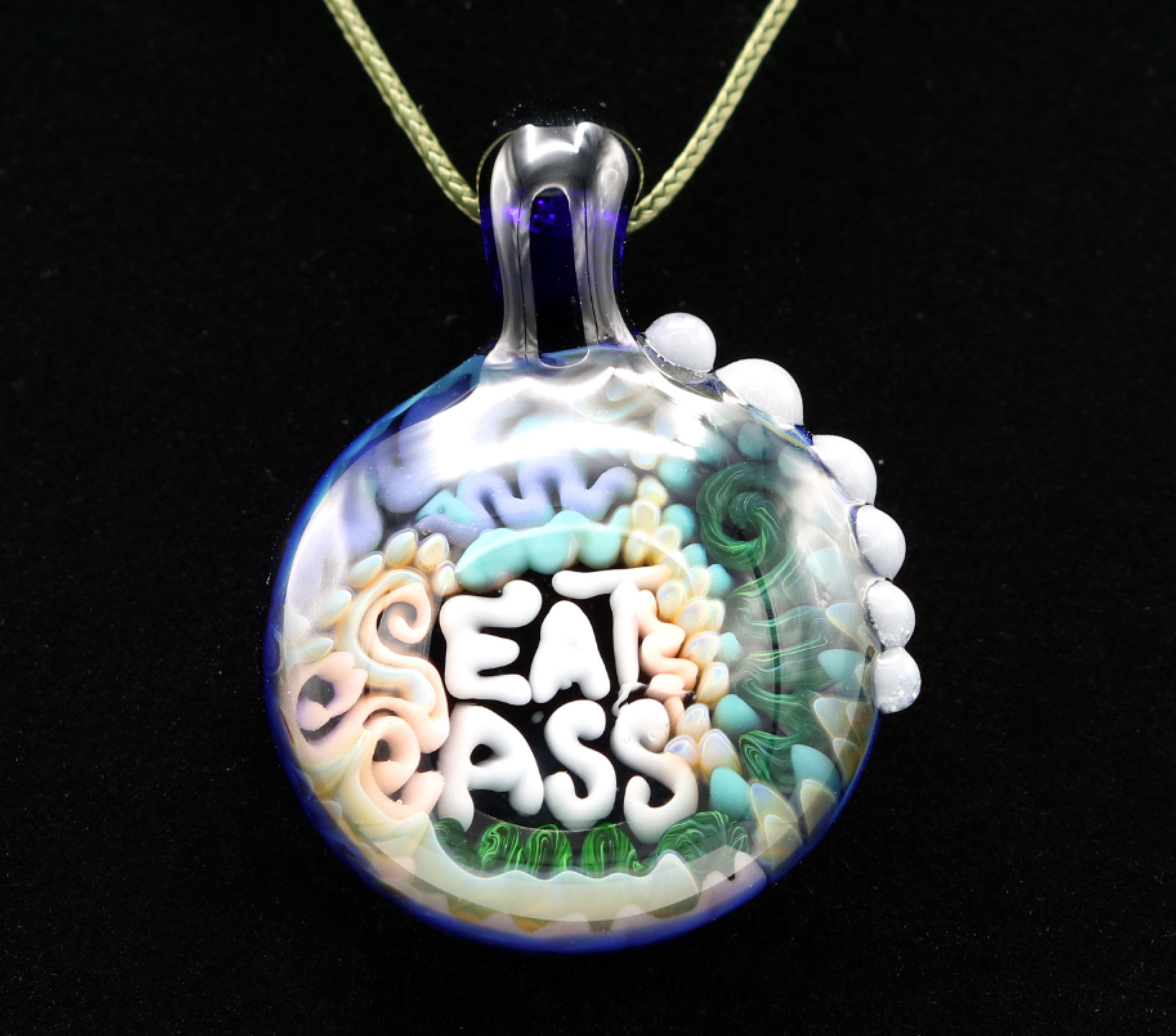 Junebug Glass – Eat Ass Pendant