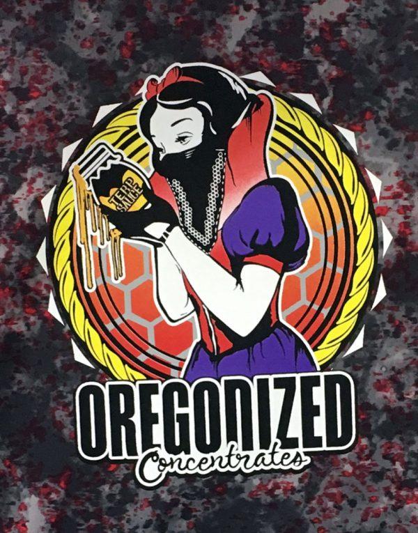 Oregonized Apparel Deep Red Rock Sauce Princess Hoodie