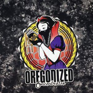 Oregonized Apparel Deep Black Rock Sauce Princess Hoodie