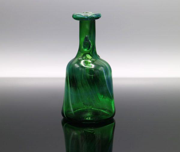 Glassmith Experimental Green Pocket Bottle