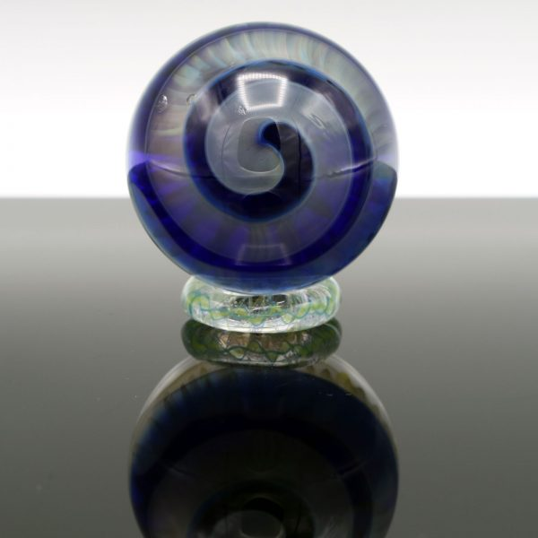 Garden of Eden Glass Fumed Trippy Marble
