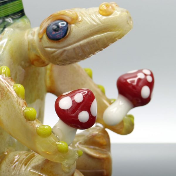Kiebler Amanita Turtle Functional Sculpture Heady