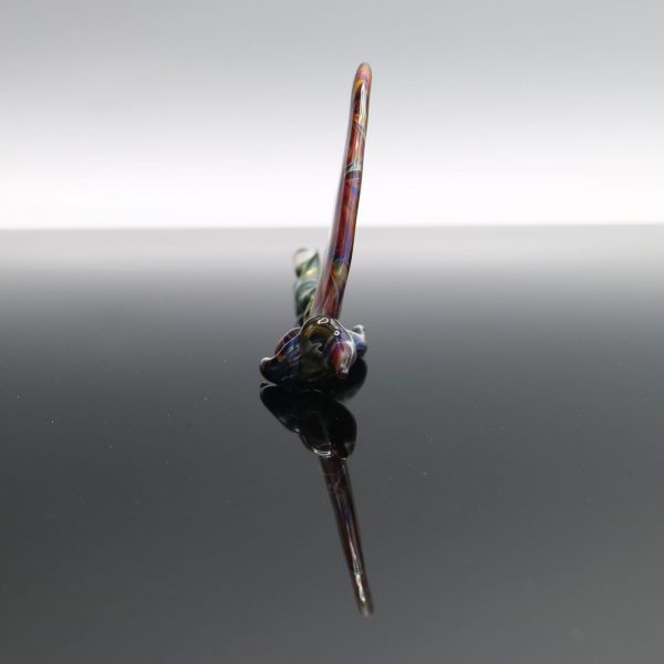 B-Hold Glass Fumed Swirly Scythe