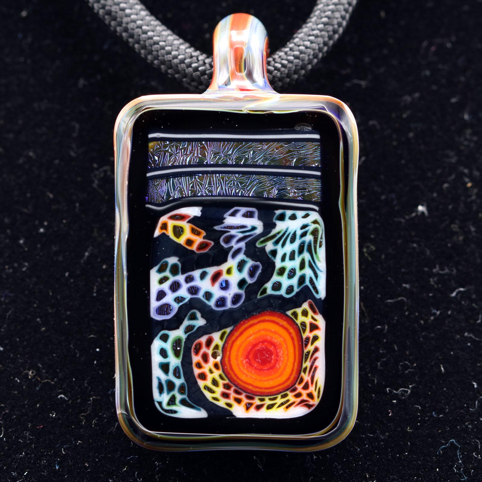 Kaj Beck – Rectangular Micro WonkaStone Pendant