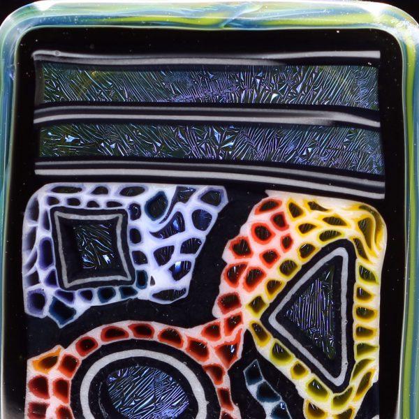 Kaj Beck Wonka Farmer Square Micro Wonka Stone Pendant