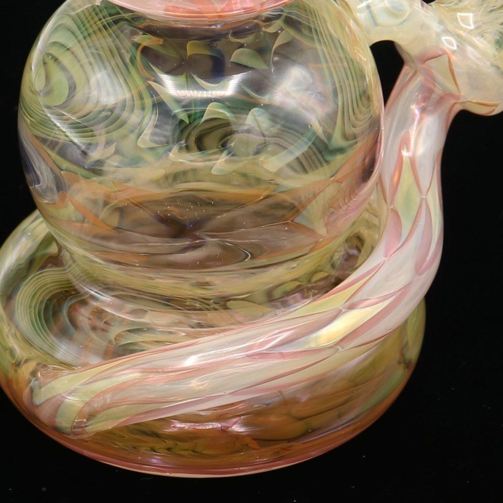 American Glass Art - Philpot X Hugh Glass Fumed Spinnerjet Collab