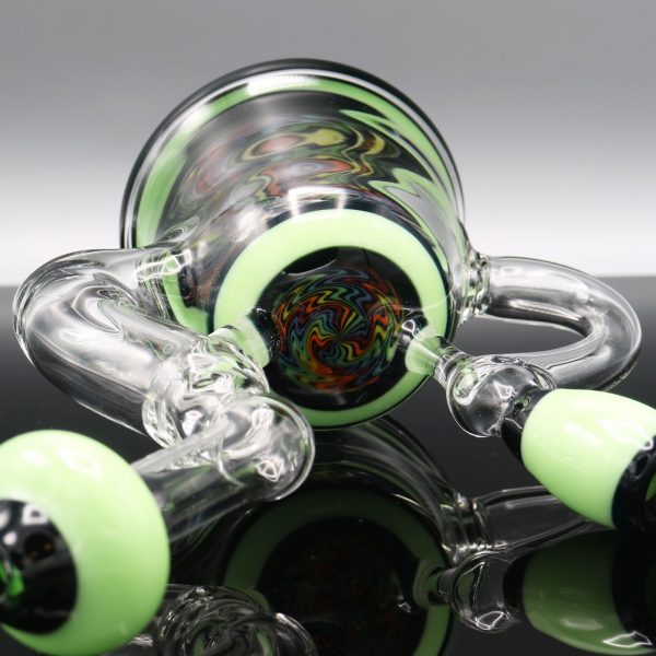 Chappell Glass Blue and Green Banger Hanger