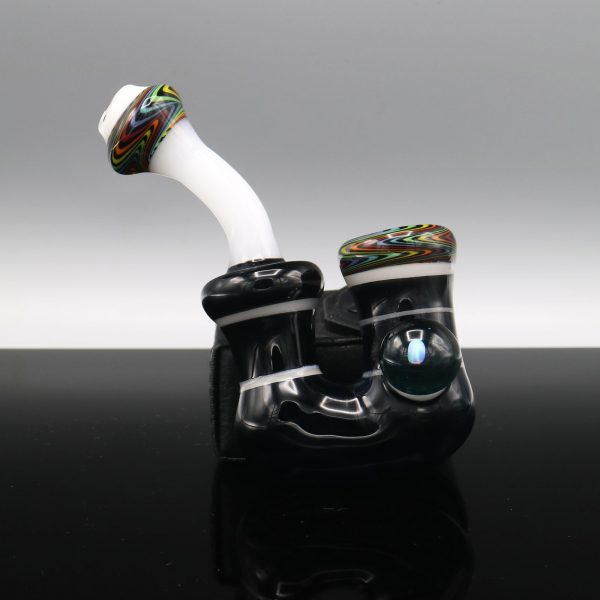 Chappell Glass Black and White Sherlock