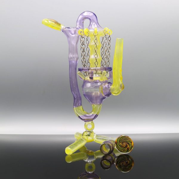 Gemini Glass Disc Golf Glassket Recycler Number 1