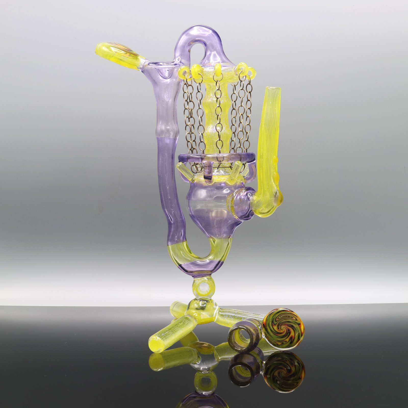 Gemini Glass – Disc Golf Glassket Recycler Number 1