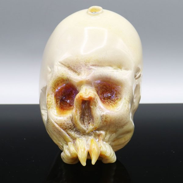 Jonny Carrcass Functional Skull Sculpture