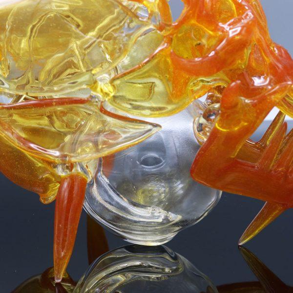 Jonny Carrcass Tangerine Skull