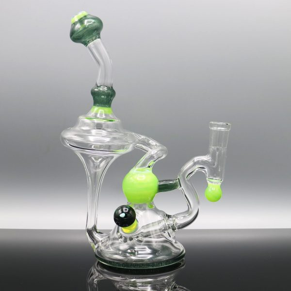 Chappell Glass Green and Blue Recycler