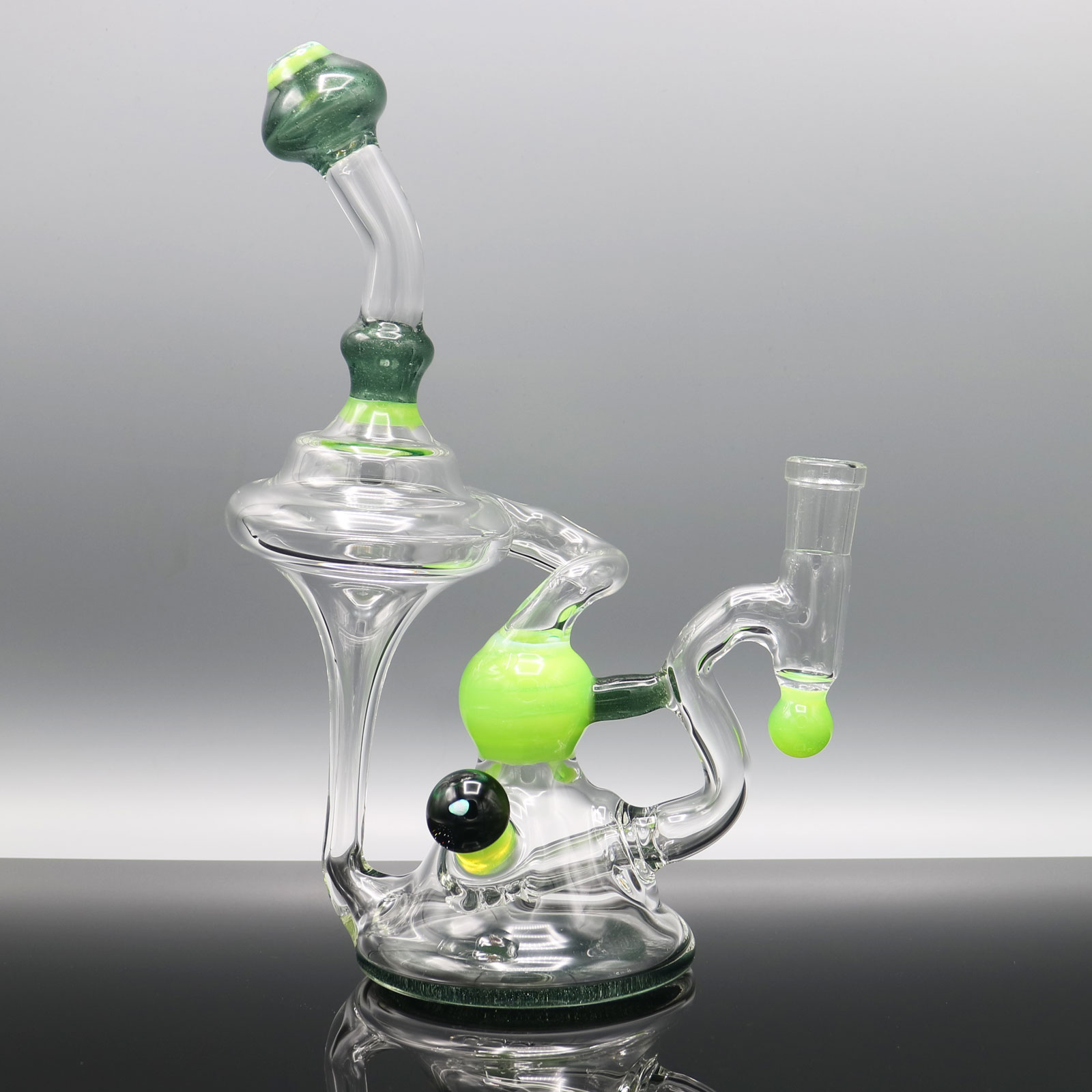 Chappell Glass – Blue Green Recycler