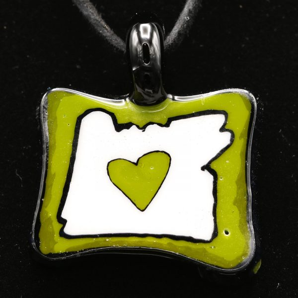 Ryan McCluer Heart in Oregon Pendant