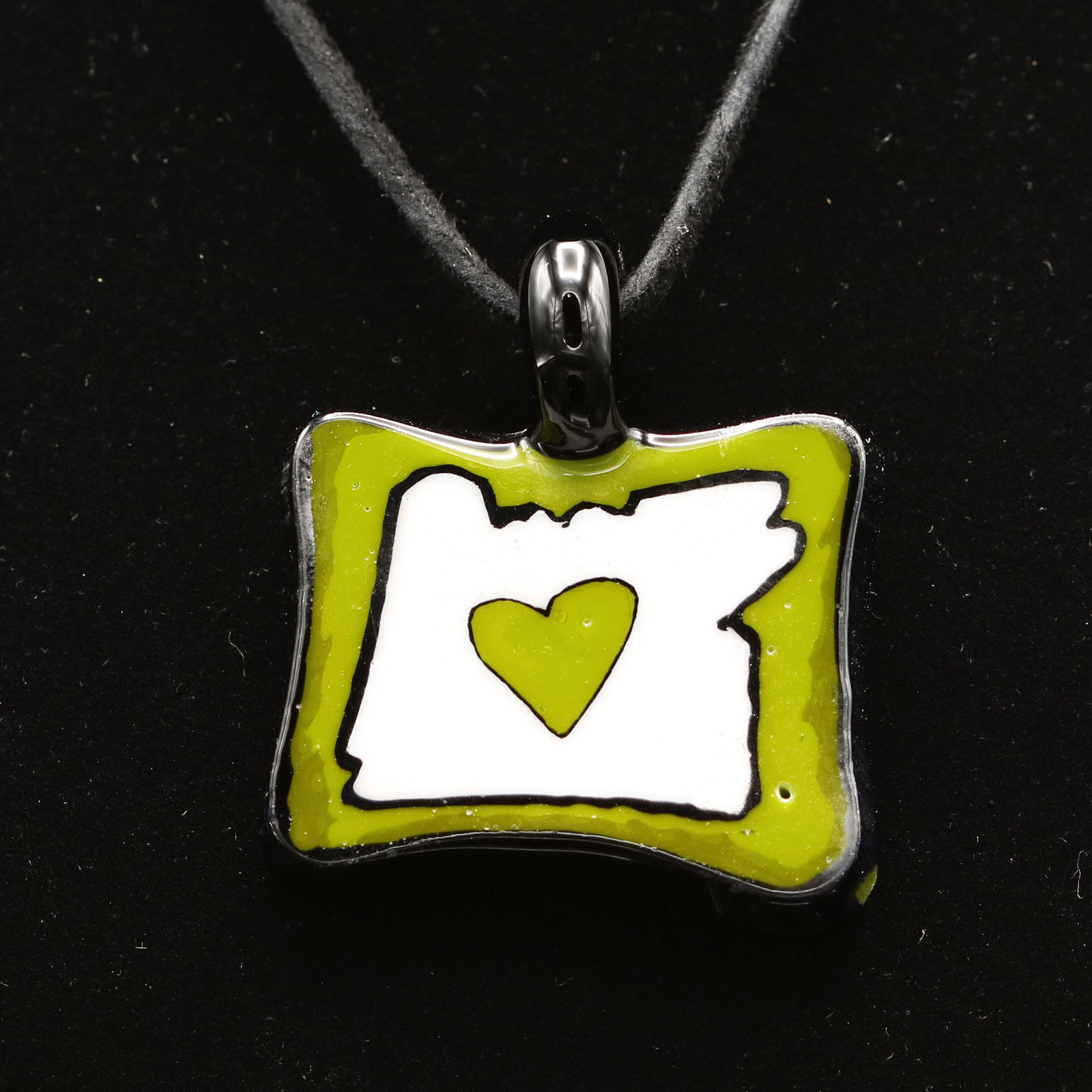 Ryan McCluer – Heart in Oregon Pendant