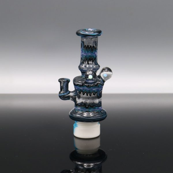 Glassmith Blue Micro Rig Carb Cap