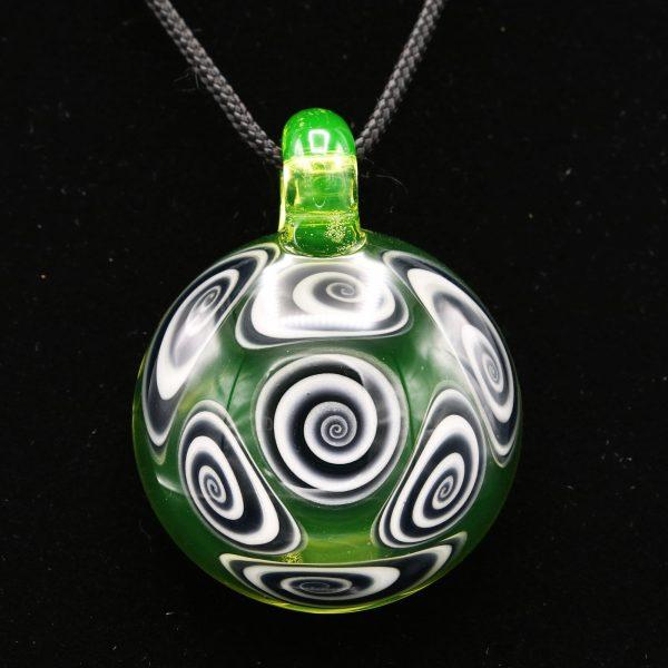 Kaja Glass Illuminati Microspiral Pendant