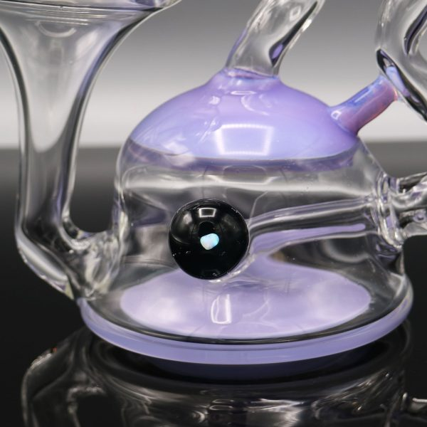 Chappell Glass Lavender Recycler