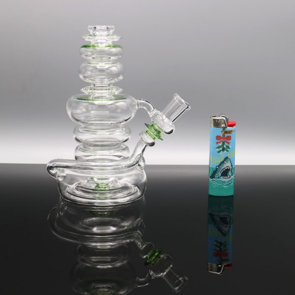 Philpot Green and Clear 14 mm Spinnerjet