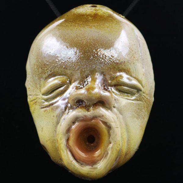 Jonny Carrcass Silver Strike Baby Face Pendant Dry Piece