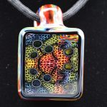Kaj Beck WonkaStone 2by3 Murrine Pendant