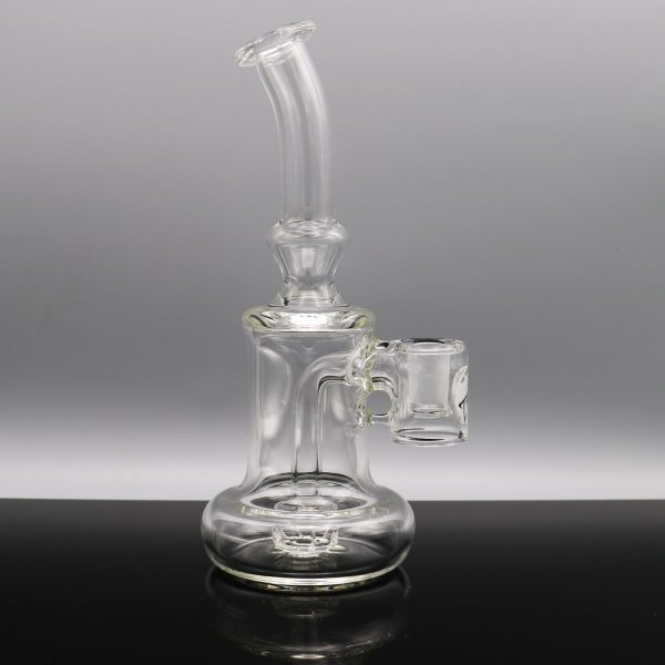 Jeff Patterson Clear Large Silicone Reclaimer Rig