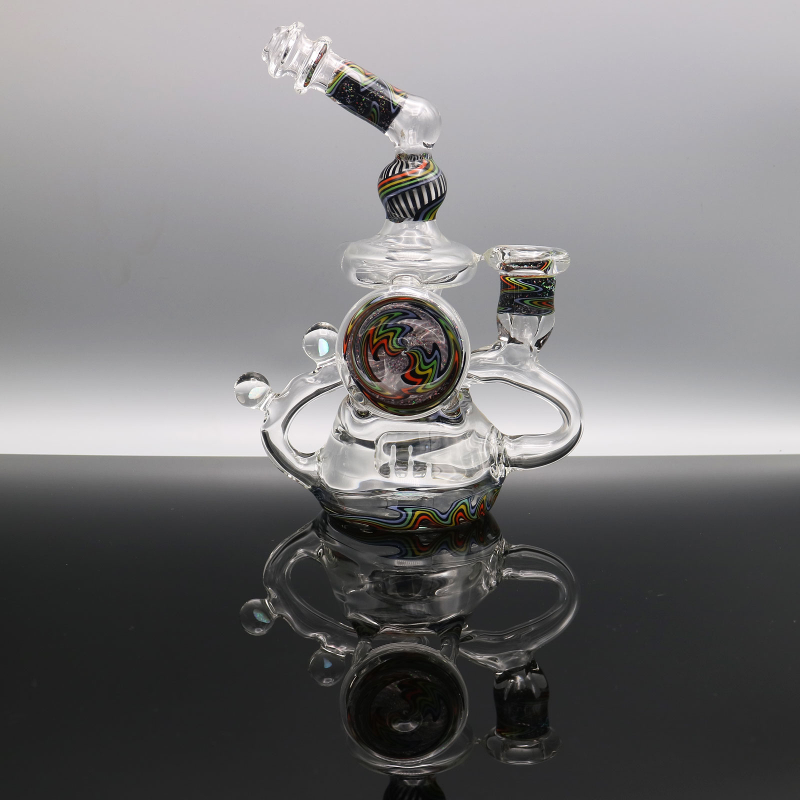 Chappell Glass – Clear Crushed Opal Recycler