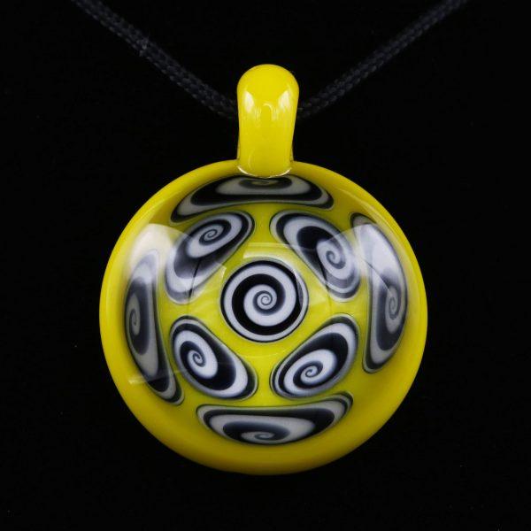 kaja-glass-9-section-canary-microspiral-pendant-3