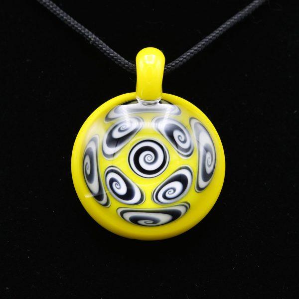 kaja-glass-9-section-canary-microspiral-pendant-4
