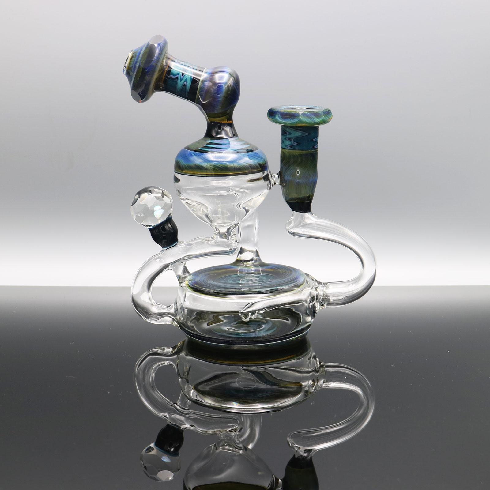 Chappell Glass – Faceted Single Uptake Recycler