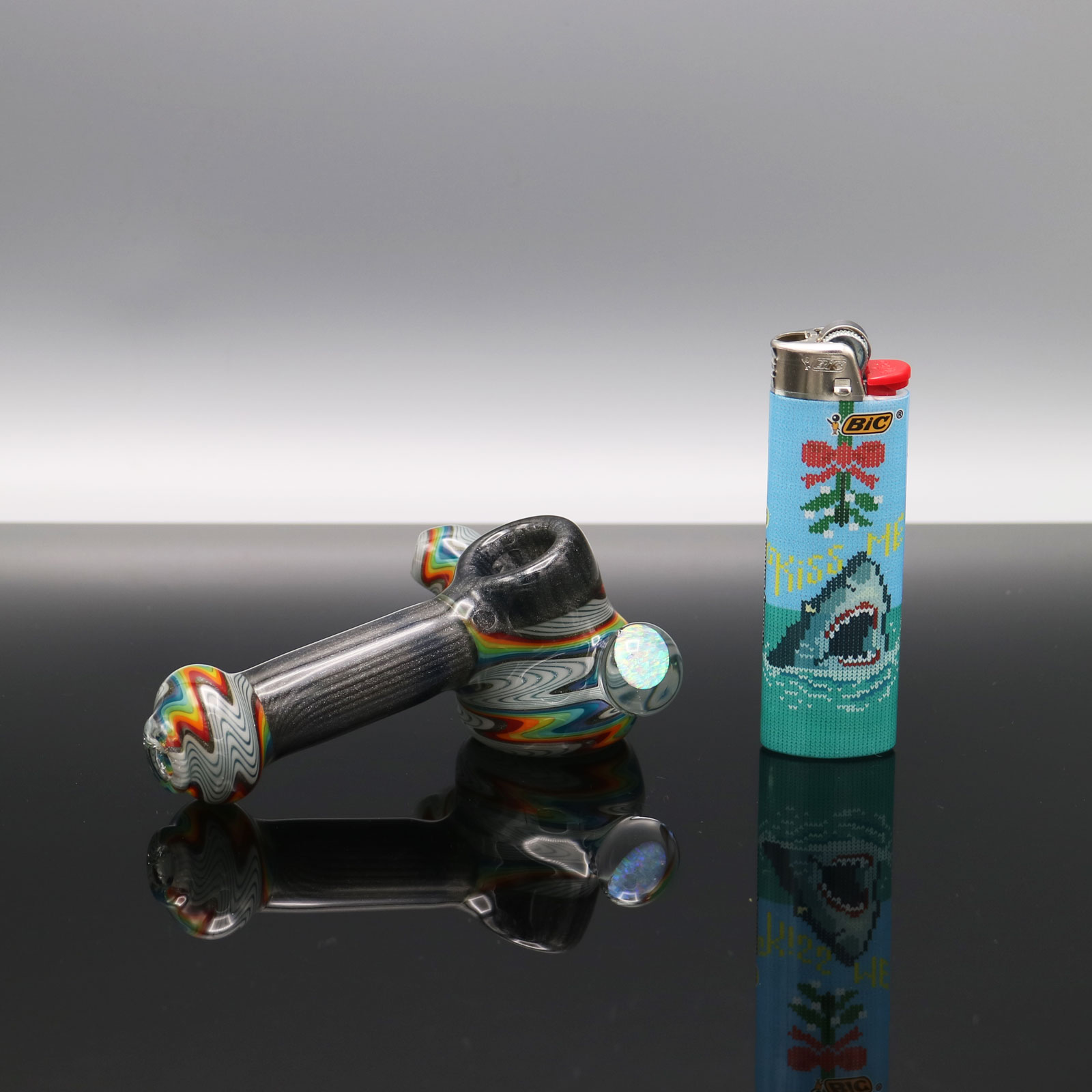 Chappell Glass – Mini Rainbow Hammer