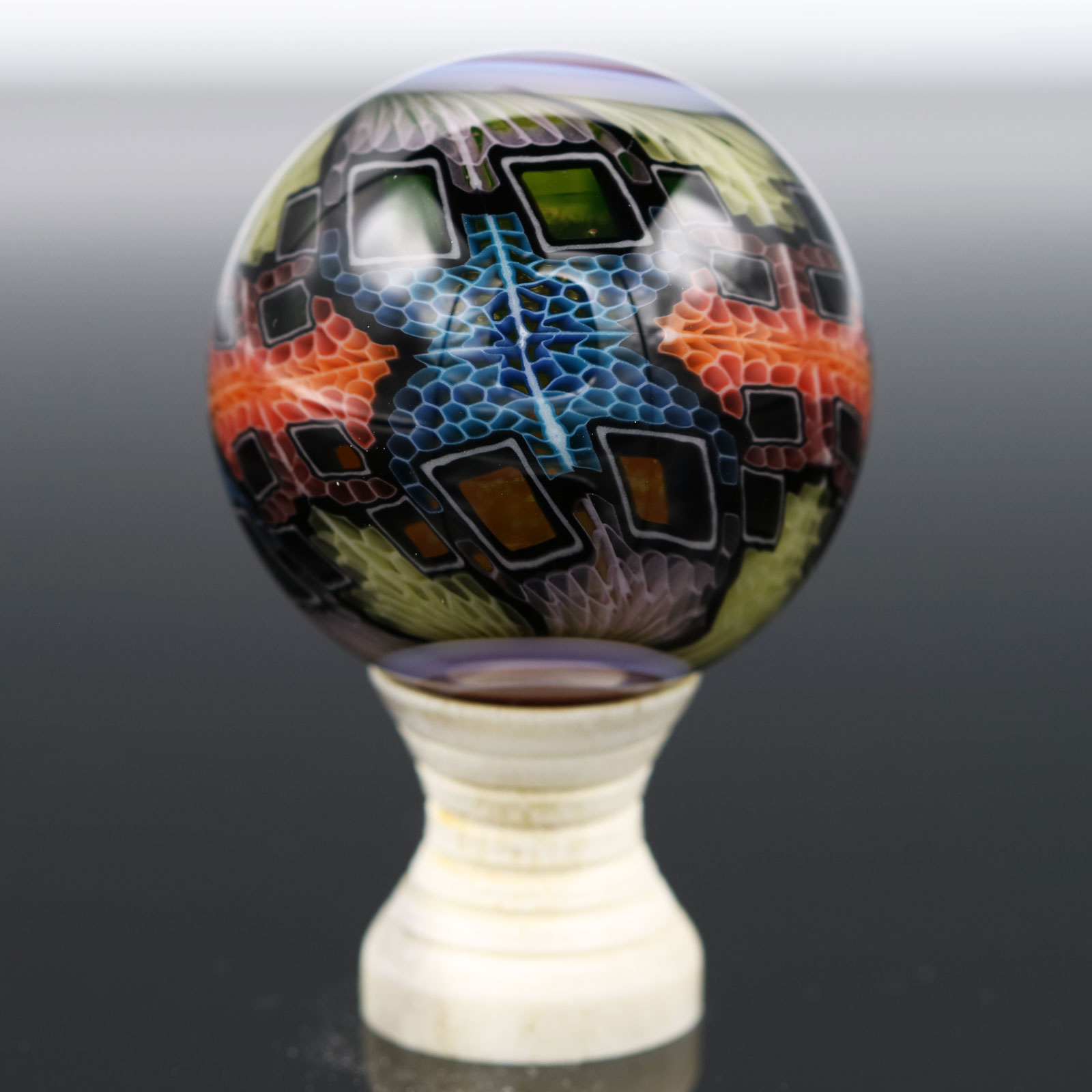Kaj Beck – UV Glass WonkaFarm Murrine Marble