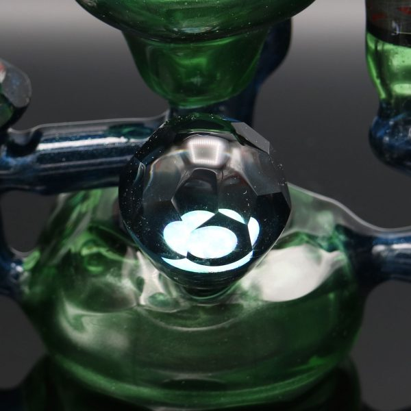 chappell-glass-blue-green-stardust-faceted-recycler-7