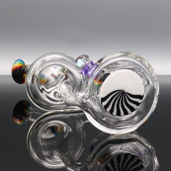 chappell-glass-purple-marble-rainbow-recycler-1