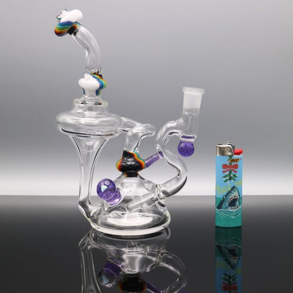 chappell-glass-purple-marble-rainbow-recycler-6